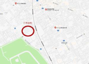 狭山新茶祭り 駐車場